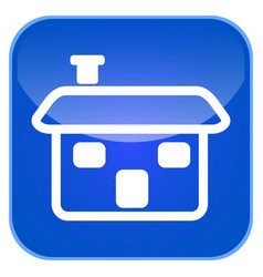 house app icon vector image