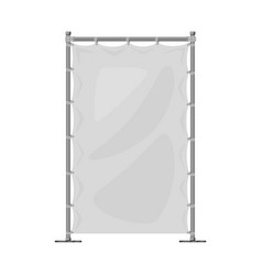 Isolated object banner and screen sign set of vector
