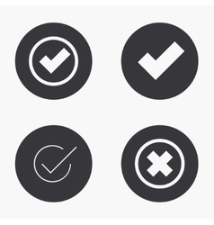 modern vote icons set vector image