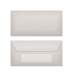 Paper Envelope realistic Mockup vector image