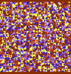 Polygonal abstract mosaic triangle pattern vector