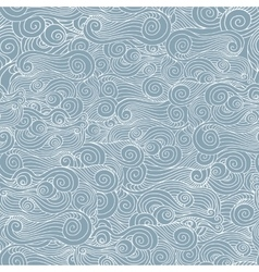 whorl pattern background vector image