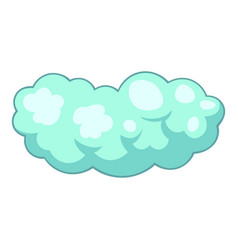 medium cloud icon cartoon style vector image vector image