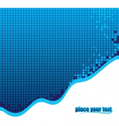 dotted background vector image