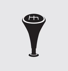 car transmission black symbol vector image