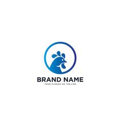 Chicken logo design vector
