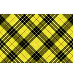 Macleod tartan kilt fabric texture plaid diagonal vector