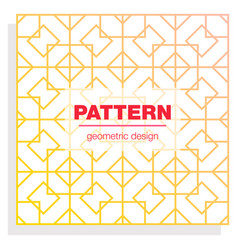 seamless linear pattern with thin poly lines and vector image