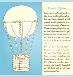 Air ballon hd vector