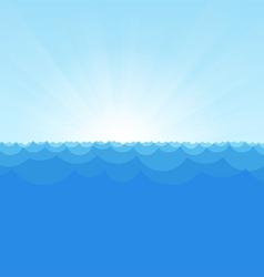 Sea Simple Background copy vector image