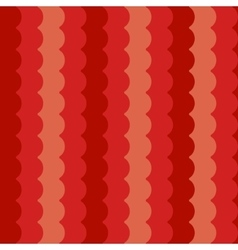 Wave pattern vertical red abstract waves vector image vector image