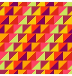 geometric wallpaper pattern seamless background vector image