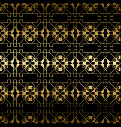 abstract golden texture seamless pattern vector image