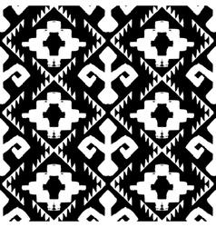 Aztec background vector image vector image