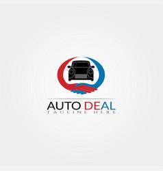 Car icon templatedealcreative logo design element vector