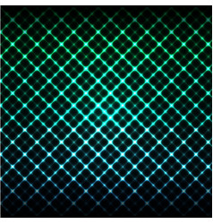 Digital glowing background hi-tech green and blue vector