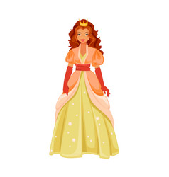 fantastic princess vector image