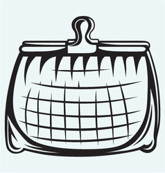 Full purse vector image