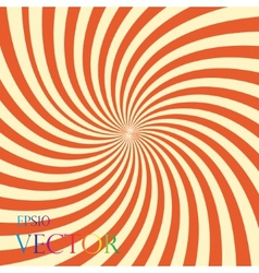 stripes circle abstract vector image