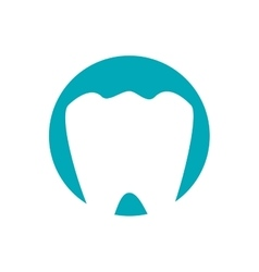 dental healthcare isolated icon vector image