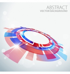 3D background vector image vector image