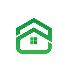 home building icon logo image vector image
