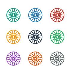 Dart icon white background vector
