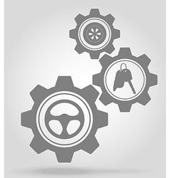 Gear mechanism concept 12a vector