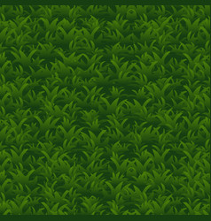 green grass seamless pattern background vector image