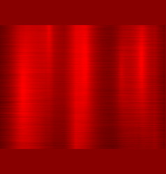 red metal technology background vector image