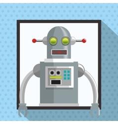 Robot design Technology concept Colorful vector
