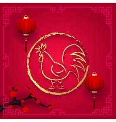 Spring festival for a long time chinese new year vector