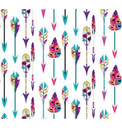 tribal arrows design vector image