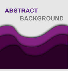 violet curve shape abstract background vector image