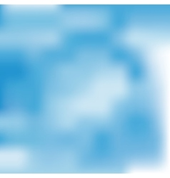 water blue sky clouds design vector image