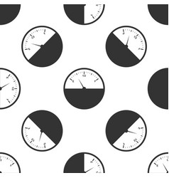 fuel gauge icon seamless pattern vector image