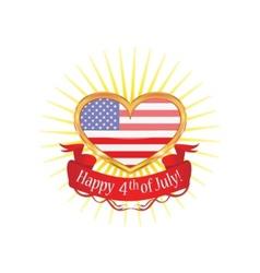 American heart vector