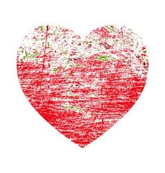 Brushed Valentine vector image
