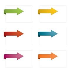 Page arrows vector