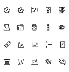 Productivity and Development Icons 3 vector
