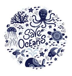 Save ocean vector