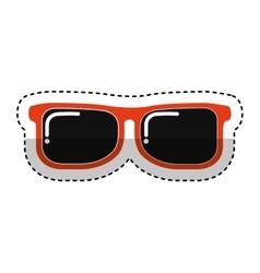 sunglasses fashion isolated icon vector image