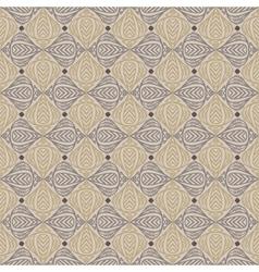 Vintage pattern in sepia color vector image vector image