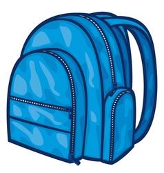bag pack - backpack vector image