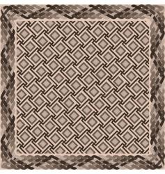 basket weave pattern vector image vector image