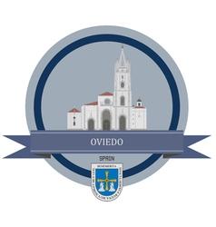 Oviedo vector image vector image