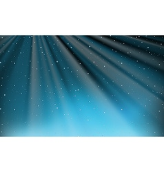 Background design with stars and blue light vector image