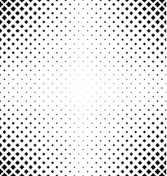 Black and white square pattern background vector image