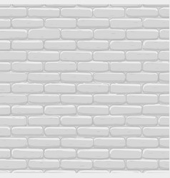 brick wall background gray texture vector image