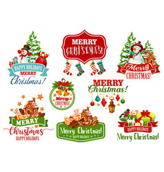 Christmas wish winter holiday greeting icon vector